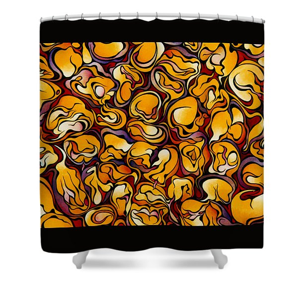 Blood Corn Shower Curtain