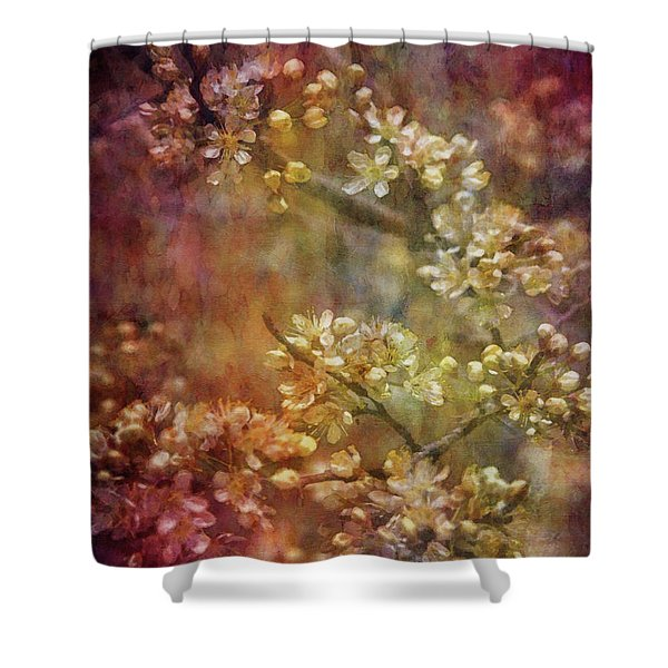 Blossoms 9664 Idp_2 Shower Curtain