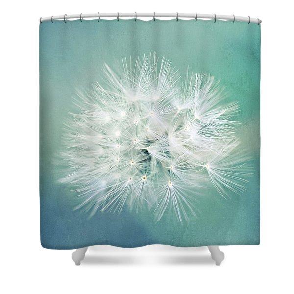 Blue Awakening Shower Curtain