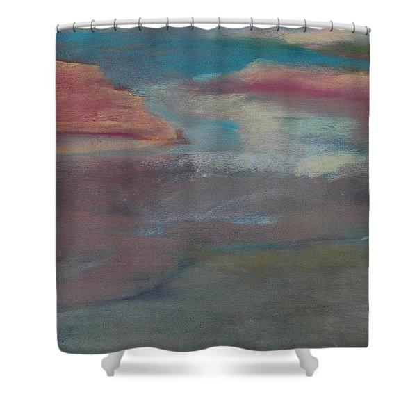 Blue Dune Shower Curtain