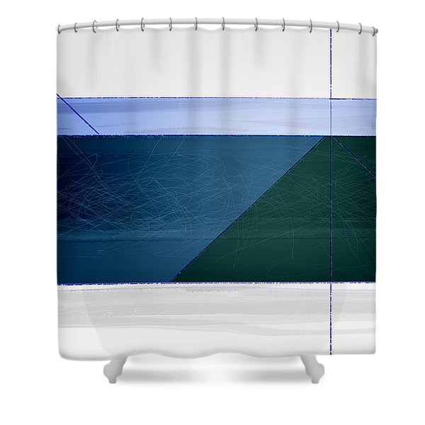 Blue Haze Shower Curtain