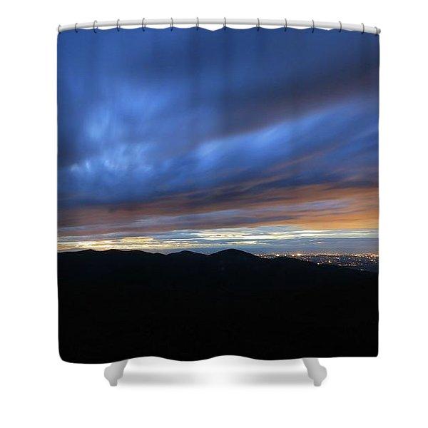 Blue Hour In Shenandoah Shower Curtain