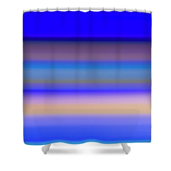Blue Hour Shower Curtain