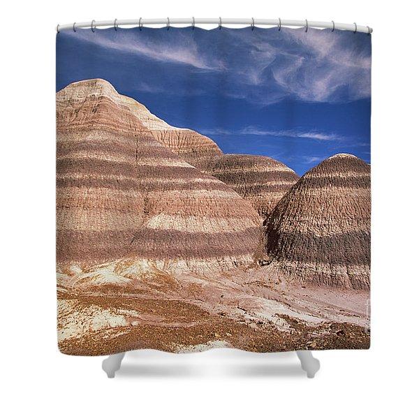 Blue Mesa Arizona Shower Curtain