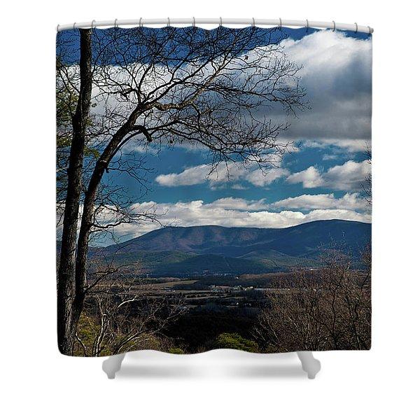 Blue Ridge Thornton Gap Shower Curtain