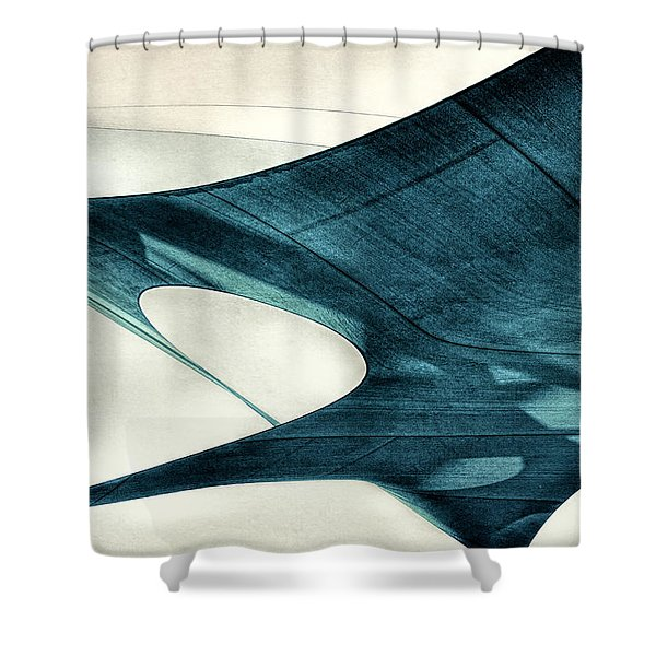 Blue Sails Shower Curtain
