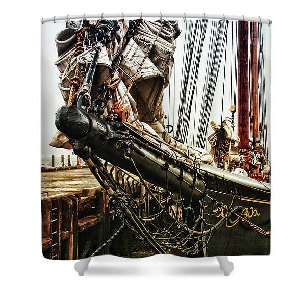 Bluenose Shower Curtain