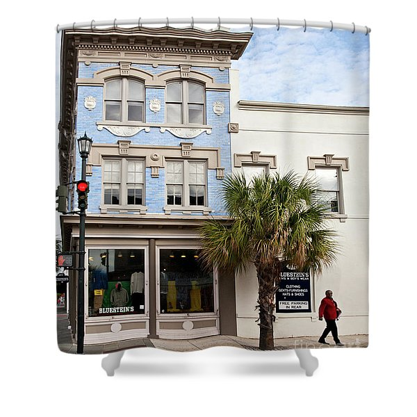 Bluesteins Menswear Charleston Sc  -7434 Shower Curtain