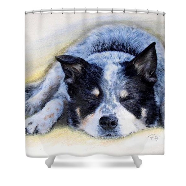 Bluey Shower Curtain