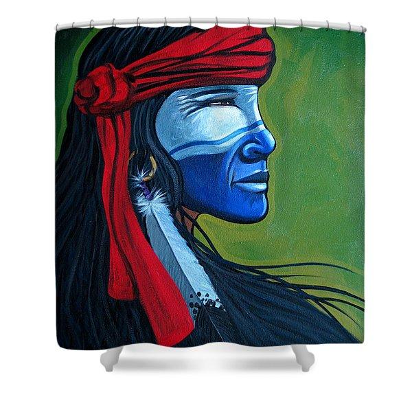 Bluface Shower Curtain