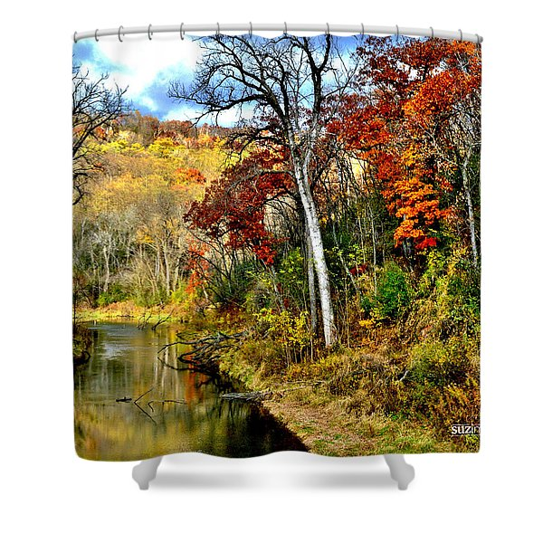 Bluff Country Shower Curtain