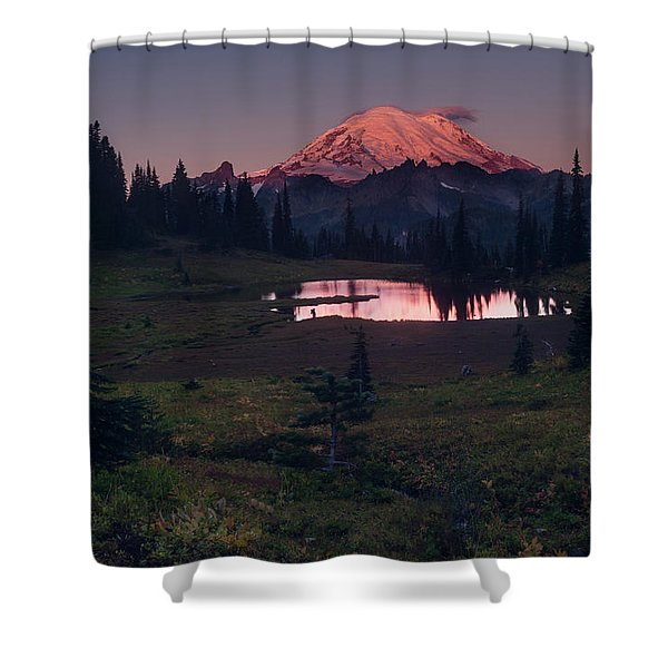 Morning Blush Shower Curtain