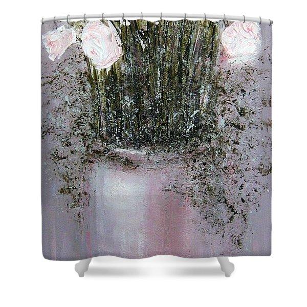 Blush - Original Artwork Shower Curtain