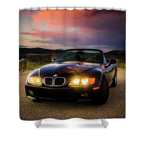 Bmw Z3 Shower Curtain