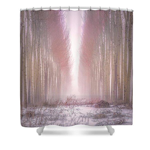 Boardman Tree Farm  Shower Curtain