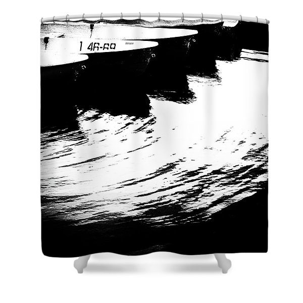 Boat #1 4669 Shower Curtain