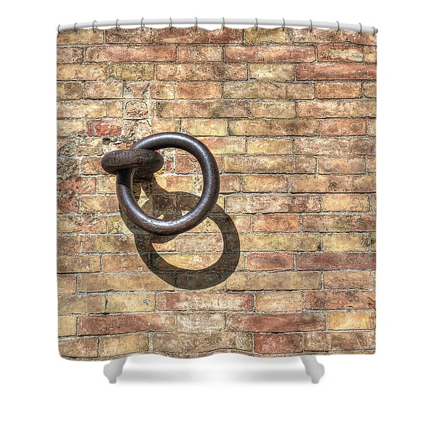 Boat Ring Shower Curtain