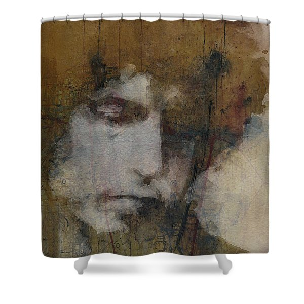 Bob Dylan - The Times They Are A Changin' Shower Curtain