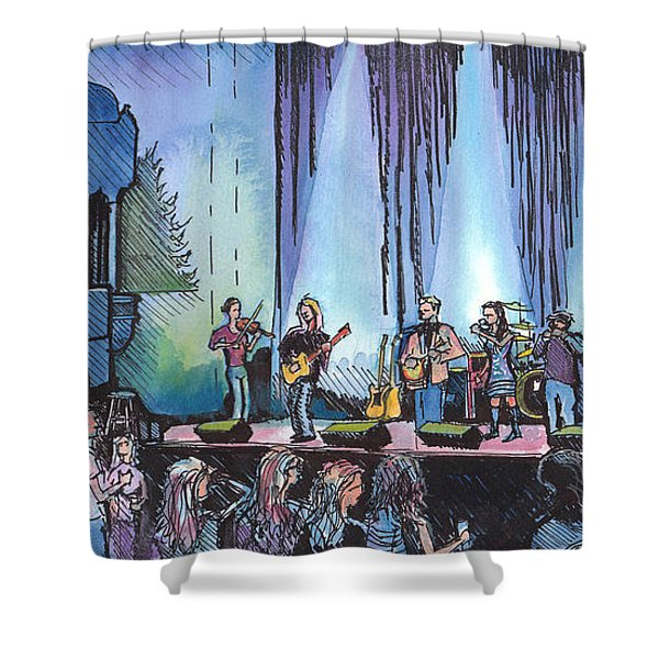 Bob Dylan Tribute Show Shower Curtain