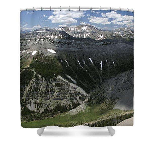 Bob Marshall Wilderness Shower Curtain