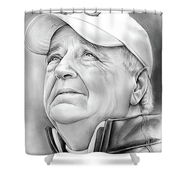 Bobby Bowden Shower Curtain