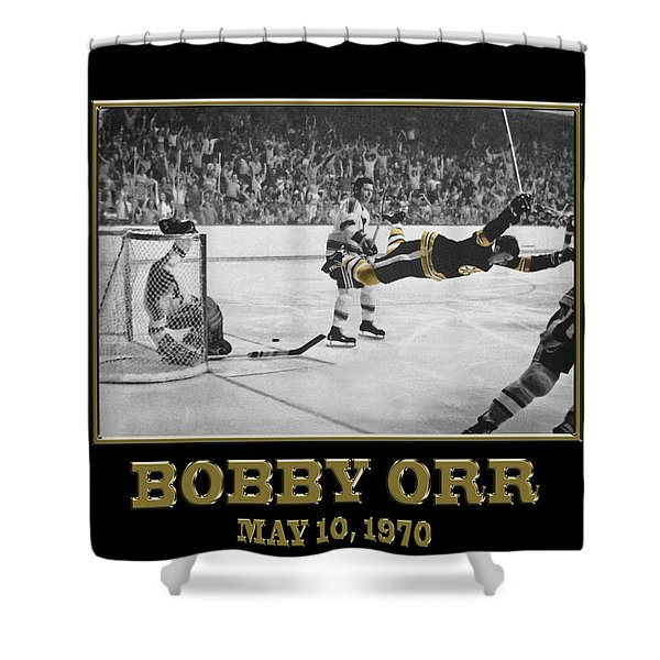 Bobby Orr 6 Shower Curtain