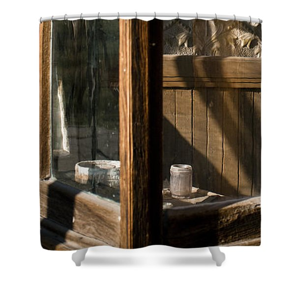 Shower Curtain featuring the photograph Bodie 19 by Catherine Sobredo