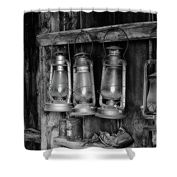 Bodie Lanterns Shower Curtain