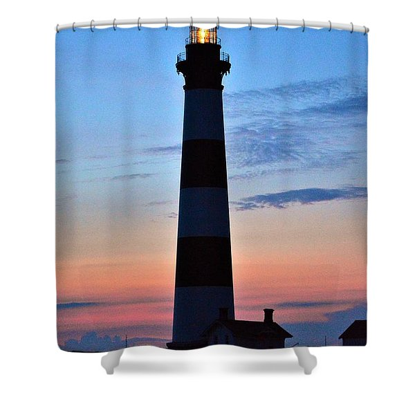 Bodie Lighthouse 7/18/16 Shower Curtain