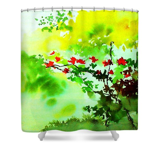 Boganwel Shower Curtain