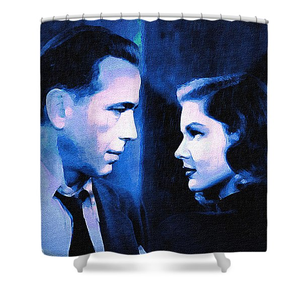 Bogart And Bacall - The Big Sleep Shower Curtain