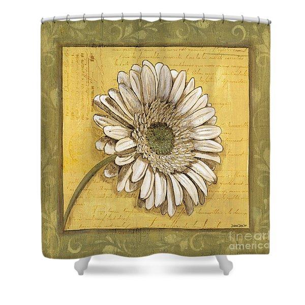 Bohemian Daisy 1 Shower Curtain