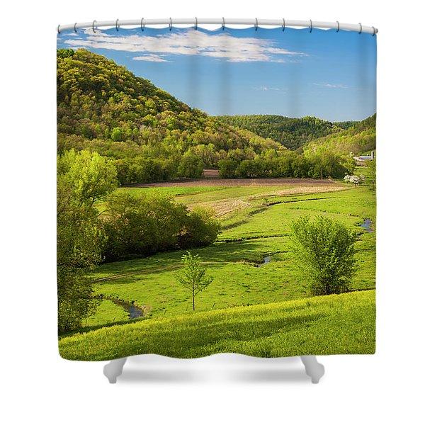 Bohemian Valley Shower Curtain
