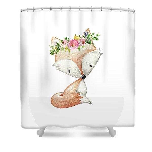 Boho Fox 2 - Custom Order Shower Curtain