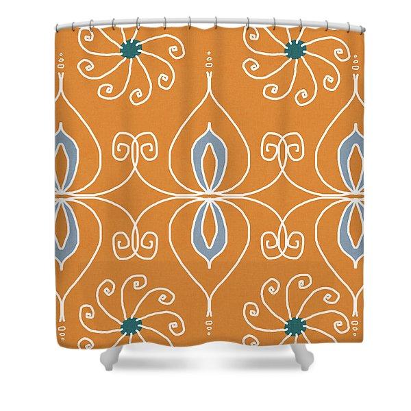 Boho Ornamental 1- Art By Linda Woods Shower Curtain