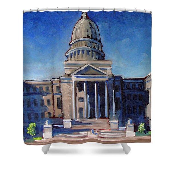 Boise Capitol Building 02 Shower Curtain