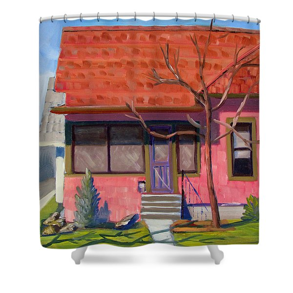 Boise Ridenbaugh St 02 Shower Curtain