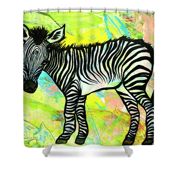 Bold And Bright Shower Curtain