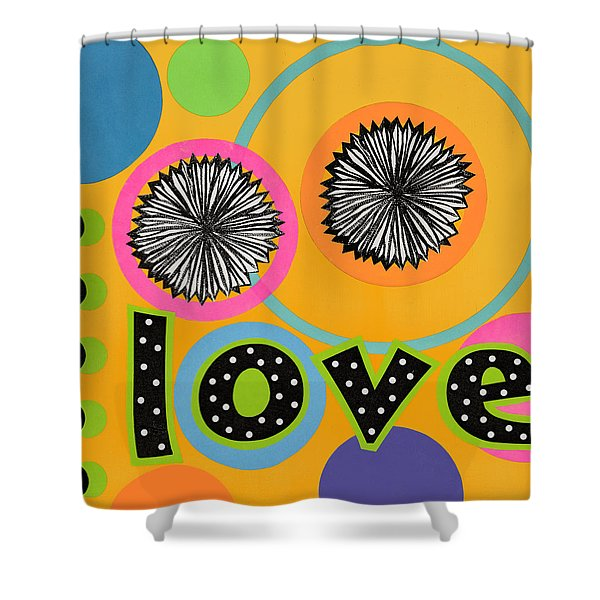 Bold Love Shower Curtain