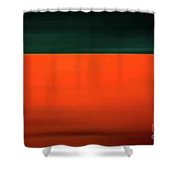 Bold Tanker Shower Curtain