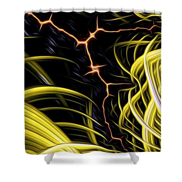Bolt Through Shower Curtain
