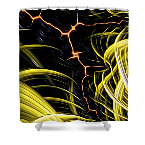 Bolt Through Shower Curtain