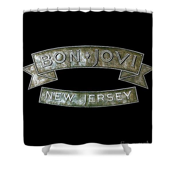 Bon Jovi New Jersey Shower Curtain