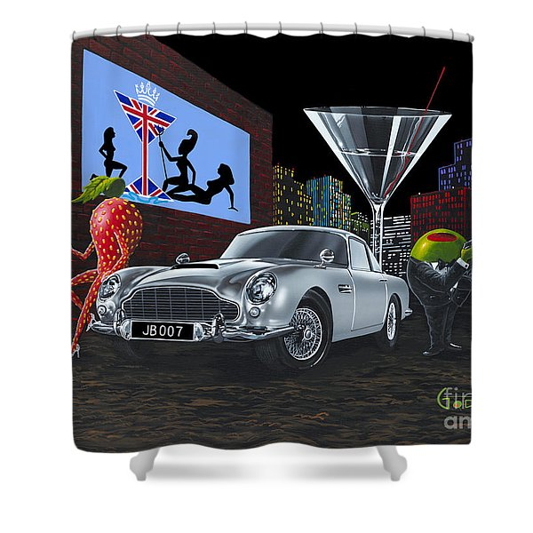 Bond Shower Curtain