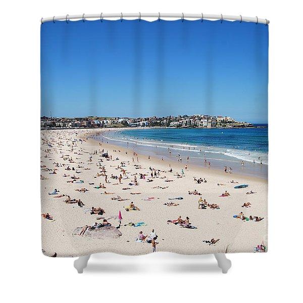 Bondi Beach In Sydney Australia Shower Curtain