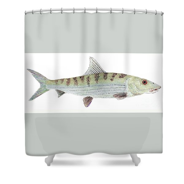 Bonefish Shower Curtain