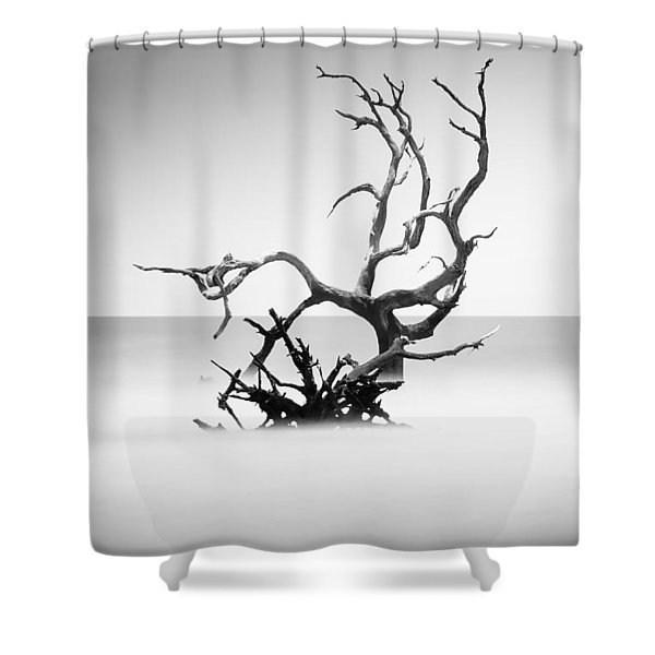 Boneyard Beach X Shower Curtain