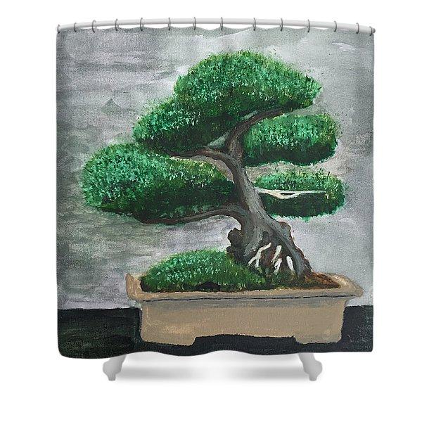 Bonsai #2 Shower Curtain