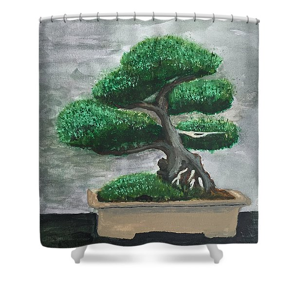 Bonsai #2 Shower Curtain