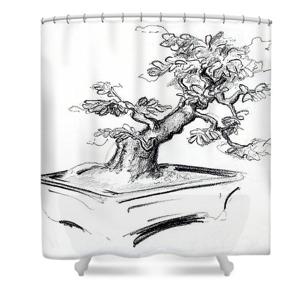 Bonsai  Shower Curtain